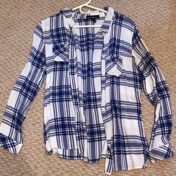 Derek Heart Tops - Long Sleeve Flannel